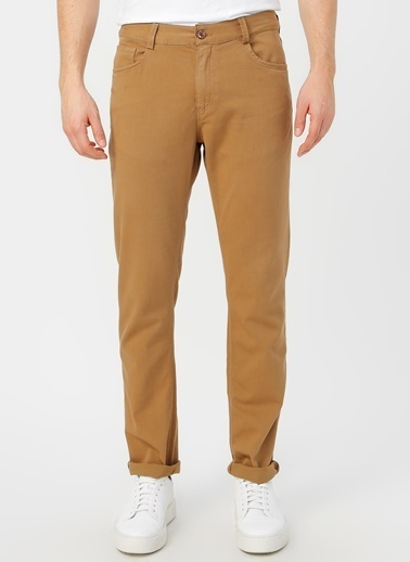 Fabrika Comfort Fabrika Comfort Deve Tüyü Chıno Pantolon Taba